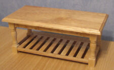 1 12 Dolls House Miniature Kitchen Utility Table Unit Furniture BN Wooden LGW