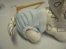 culotte chienne chaleur confort ventre 40/50cm bleu ciel creation toutou m2