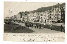 CPA-carte postale-France Boulogne sur Mer- Perspective du Boulevard Sainte Beuve