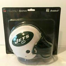 NFL RIDDELL JETS HELMET BANK UNOPENED FACTORY PACKAGE