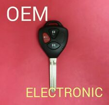 Toyota Yaris Remote Head Key 3B - MOZB41TG - Non-Transponder
