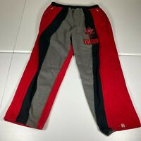 Vintage Vokal Sweat Pants Mens Size 3XL XXXL Red Joggers Casual Cotton Polyester
