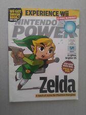 INSERTS ATTACHED!!! Nintendo Power Magazine # 205 July 2006 Zelda Hourglass