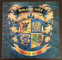 Running Wild - Blazon Stone Rare Greek Issue Vinyl 1991 LP w/Insert ORG Rare EX