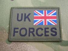 British Union Jack Flag MTP Green Army Combat Shirt/Jacket UK FORCES Patch/Badge
