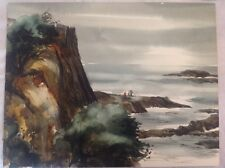 G.F. Brommer Watercolor Original Amazing Early