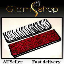 Heat resistant thermal storage bag mat for any hair straightener iron or curler