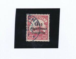 I.Brit. Besetzung Togo Mi.-Nr.18, gestempelt