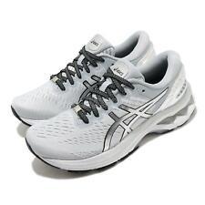 Asics Gel-Kayano 27 Platinum Grey Silver White Women Running Shoes 1012A763-020