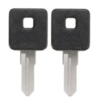 2x Motorcycle Ignition Key Blank Fit For Davidson Sportster 1200 883 TOP