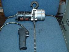 Dayton 4Z310 500 Lb Max 1/4 HP ~8' Lift Electric Chain Hoist