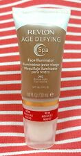 Revlon Age Defying Spa FACE ILLUMINATOR Highlight Tinted Makeup BRONZE LIGHT 040