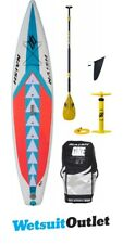 "2018 Naish One ALANA SUP Inflatable Stand Up Paddle Board 12'6"" inc PADDLE, BAG"