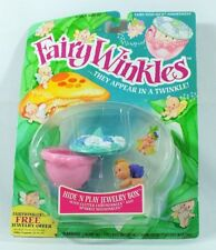 Fairy Winkles Hide 'N Play Jewelry Box NEW on Sealed Card Package Kenner 1993