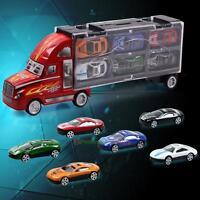 12PCS Children Vintage Toy Cars Model Truck Vehicle Mini Cars Mixed Kid Xmas Toy