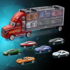12PCS Children Vintage Toy Cars Model Truck Vehicle Mini Cars Mixed Kid XmasToy