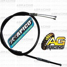 Apico Black Clutch Cable For Honda CR 125 1987-1997 87-97 Motocross MX Enduro