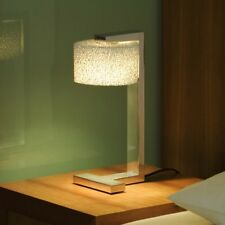 Serien.Lighting Reef Table Aluminium gebürstet LED