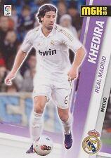 N°189 KHEDIRA # DEUTSCHLAND REAL MADRID OFFICIAL TRADING CARD PANINI LIGA 2013