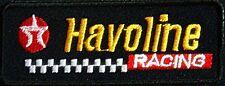 Texaco Havoline Racing iron on/sew on cloth patch  (tg)