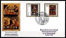 Weihnachten. Geburt Christi, Anbetung der Könige. FDC-Brief. BRD 1987