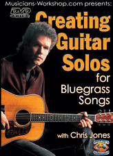 Learn Guitar Creating Guitar Solos for Bluegrass Songs (DVD + Booklet) Course