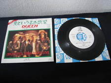 Queen Crazy Little Thing Japan Promo 7 inch Single Vinyl  Freddie Mercury