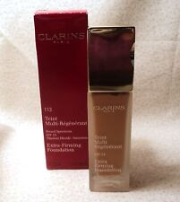 Clarins Extra Firming Foundation - Spf 15 - 113 Chestnut - 1.1 oz. - Boxed