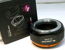 K&f Concept M42-fx Adapter for M42 Screw Mount Lens to Fujifilm Fuji X Cameras