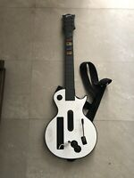 Nintendo Wii Red Octane Gibson Les Paul Guitar Controller Used