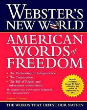 NEW Webster's New World American Words of Freedom