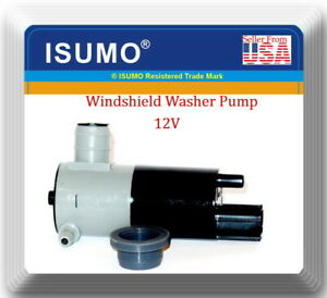 Electric Windshield Washer Pump Fits:Chrysler Dodge Jeep Mitsubishi Nissan 98-19