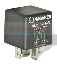 5 PIN RLP/52-24R RE2754.10 12V 22/10A WITH RESISTOR CHANGE OVER MULTI