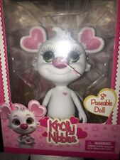 """Knolly Nibbles Posable Doll 8"""" New Posable Vinyl Kids New"""