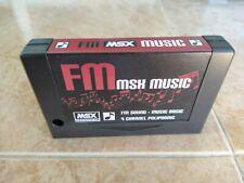 FM MSX MUSIC