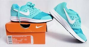 NWT Nike Downshifter 7 Shoes Toddler size 11C   869973-301