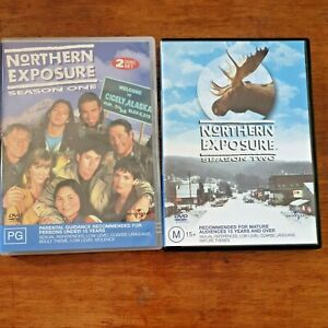 Northern Exposure Complete Seasons One and Two (1+2) DVD R4 Like New! FREE POST
