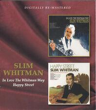 SLIM WHITMAN In Love The Whitman Way + Happy Street | CD Neuware | new sealed