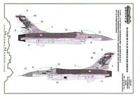 Model Maker Decals 1/48 F-16AM FALCON 20 Years in Portuguese Air Force Service