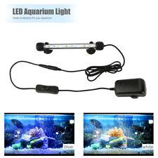 New listing 19cm Aquarium Fish Tank 5050 Smd White&Blue Color Led Lights Lamp Submersible