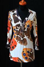 NICE CONNECTION Shirt Tunika Top 179,- Stretch NEU Gr. 36 edel geschnürt D1088