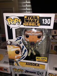 Ahsoka (130) (Star Wars Rebels) Hot Topic Exclusive Funko Pop *IN HAND*
