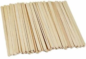 1000 x Wooden Stirrers for Coffee & Tea - 140mm - Biodegradable Sticks Hot Drink