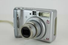 Canon PowerShot A540 6.0 MP Digital Camera - Silver- Tested Works