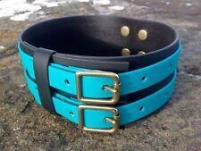 "BC21 Handmade Biothane® Dog Collar Lurcher/Greyhound/Bull Cross 15""-20"""