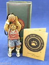 Boyd's Bear Bearstones Collection Hy Hoopster Jump For It Ornament #25739