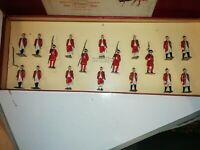 Vintage W Britains Historical Series 1475 Beefeaters,Outriders and Footmen Boxed