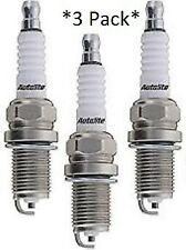 3 Pack Genuine Autolite Spark Plugs 4162 Resistor  *3-Pack*