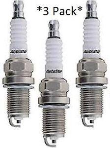3 Pack Genuine Autolite Spark Plugs 4162 Resistor  *3-Pack*
