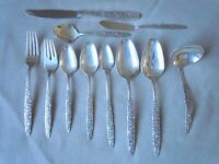 International Floral Bouquet Flatware Silverware Your Choice Silverplate